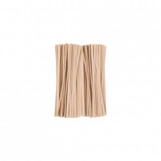 DF 크라프트빵끈(15cm 약1000개)종이빵끈 페이퍼타이