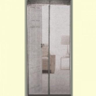 현관자석방충망 방문자석방충망 그레이 (100x210cm)