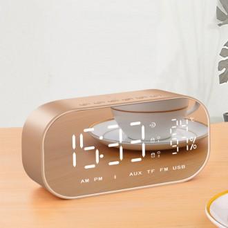 888 블루투스 스피커 알람 탁상 전자 시계 휴대용