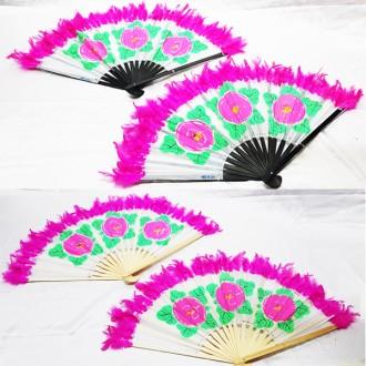 대나무 무용부채 운동회용품 체육대회 부채춤 전통춤