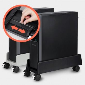 PC받침대 컴퓨터 모니터 본체 받침 키보드선반 거치대