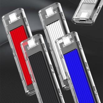 basix M10 M.2 NVMe 외장하드케이스 투명케이스 SSD케이스 베이식스