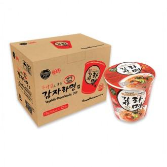 삼육 우리밀감자라면컵(컵라면) 73g X 12개입(박스)