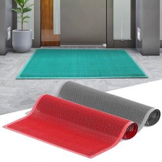 웨이브현관매트 무지 중 현관발매트 신발 털이 발닦개