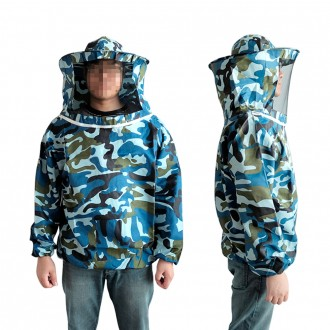 DF 밀리터리 양봉옷(상의) 양봉작업복 벌망옷 벌초복