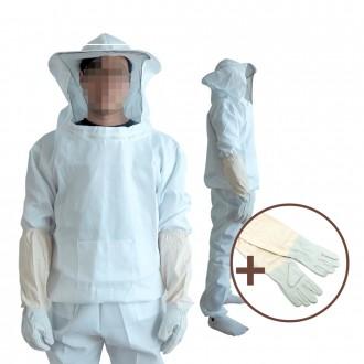 DF 면 양봉옷(상하의+양봉장갑) 양봉작업복 벌망옷