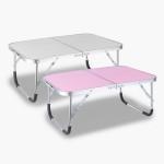 간이테이블/휴대용/침대책상/캠핑용품/노트북/좌식테이블