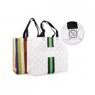리츠 패턴 부직포 쇼핑백 (소) 부직포에코백 신발주머니 보조가방 학원가방 장바구니 준비물가방 선물가방