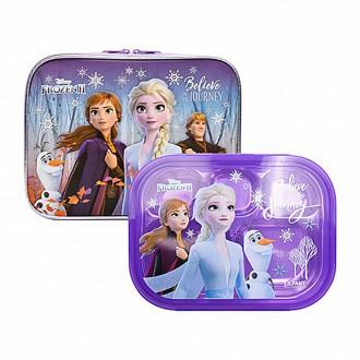 겨울왕국2 예쁜가방 스텐식판세트
