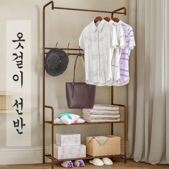 멀티행거 드레스룸 스탠드옷걸이 시스템옷장 선반형