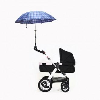유모차 양산거치대 우산거치대 햇빛가리개 유모차악세
