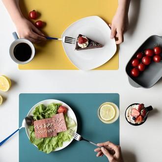 [히트템] 북유럽 실리콘 식탁매트 테이블매트 테이블보 식탁보