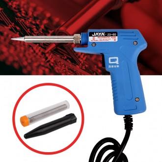 권총인두(ZD 60) 전기인두기 납땜 권총형 땜납 납땜기