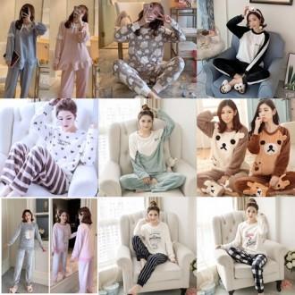 13종 여자 수면잠옷 극세사잠옷 밍크잠옷 수면바지