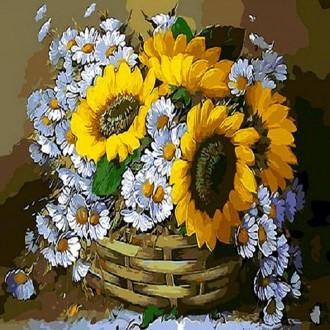 피포페인팅 Q2947 해바라기테마 DIY명화그리기
