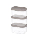 주방 냉장고수납 음식물 식재료 반찬 보관용기1호 3팩