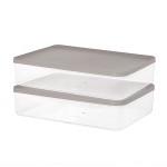 주방 냉장고수납 음식물 식재료 반찬 보관용기9호 2팩