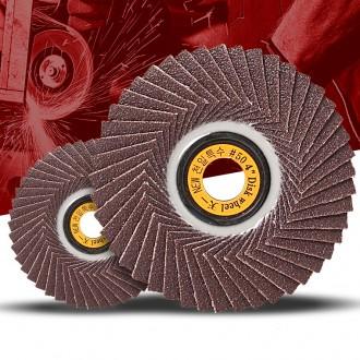 천일 휠페이퍼 4인치(10개) 원형사포 핸드 그라인더날