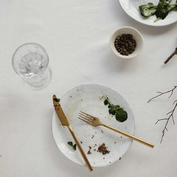 Matt gold - 01 Dinner knife