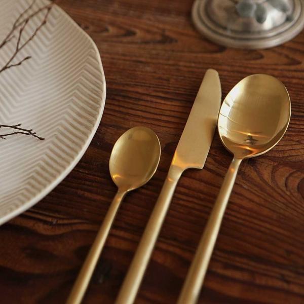 Matt gold - 03 Dinner spoon