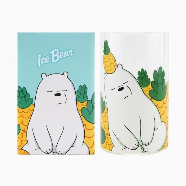 위 베어 베어스 유리컵 - 아이스베어
