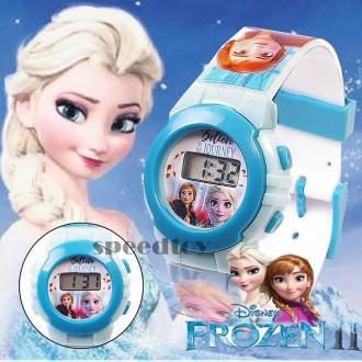 n17365/7 겨울왕국 시즌2 안나 엘사 손목시계/캐릭터 전자 어린이시계 아동시계 유아시