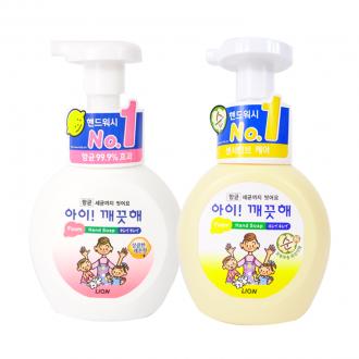 손세정제/아이깨끗해(오리지널 순)(레몬향)/유아핸드워시/비누/손소독제