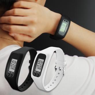 [고급형]만보기 시계/만보계/만보 손목 시계/실리콘