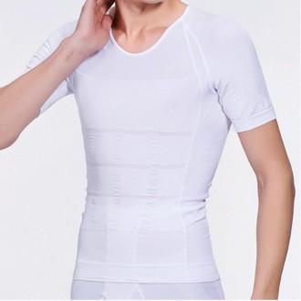 남성 보정반팔 보정속옷 보정티셔츠 반팔티 보정용 티셔츠 몸매보정 바디쉐이퍼