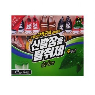 신발장용 탈취제 숲속 65g 4개입