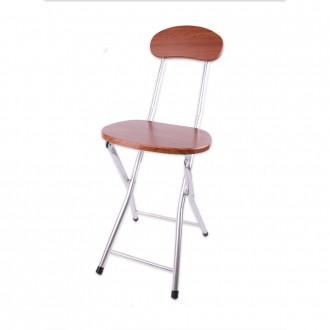 원목 등받이 접이식 의자