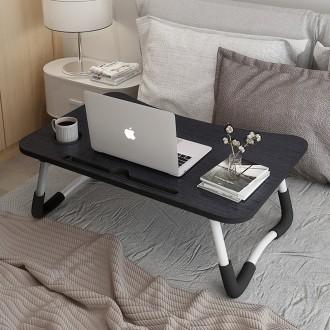 컵홀더형 접이식 노트북테이블/좌식테이블/태블릿책상