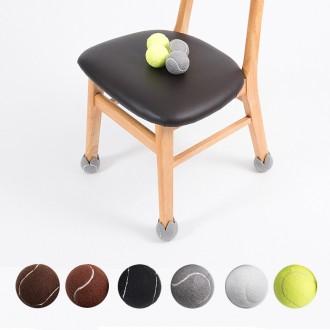 [MJ무역] 소음방지 테니스공 의자다리커버 의자발캡