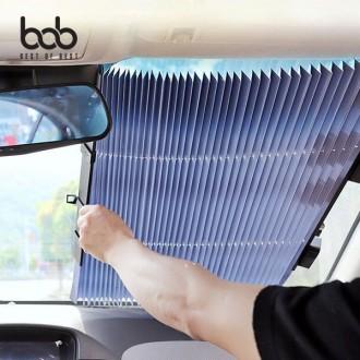 bob 차량용 햇빛가리개 썬커튼 블라인드 65CM