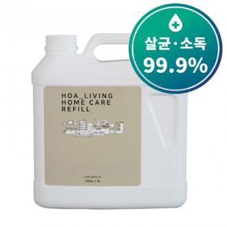 [손소독제]재고확보 대용량 4리터 세균 바이러스 99% 살균 소독 병원용