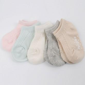 유아동 d마카롱망사-여(5족)세트발목 양말