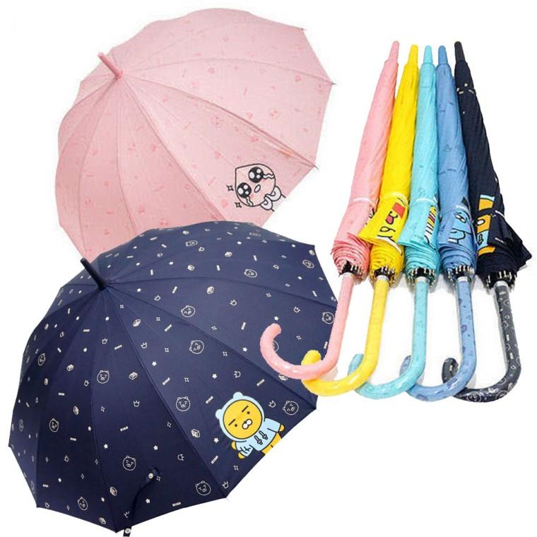 카카오프렌즈 12K 치얼업장우산 자동장우산