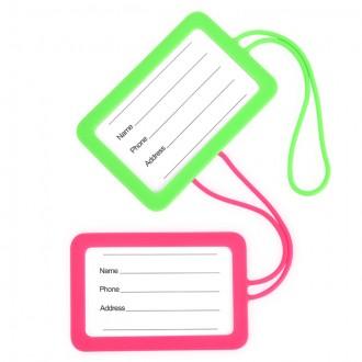 국산 실리콘 여행용 캐리어 가방 러기지 네임택 일체형