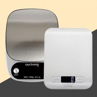 아워리빙 주방 전자저울 초정밀 저울 0.1g/0.01g 용량 500g/3kg