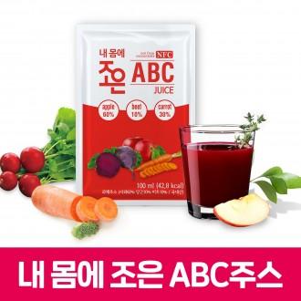 ABC주스 100ml 30포(국내산 사과비트당근 NFC 착즙) 선물용