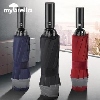 10K 3단자동 거꾸로 양우산 엣지 UPF50 자외선차단 우산