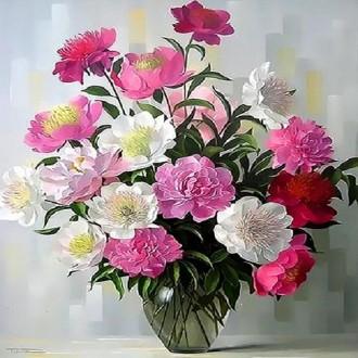 아이윙스 피포페인팅 Q3351 꽃정물화 DIY명화그리기
