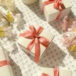 선물 포장용 화이트 박스 상자