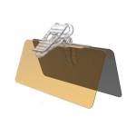 하이브리드 썬바이저 쉴드 햇빛가리개 시야확보 자외선차단기선바이저 눈부심방지