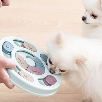 강아지 노즈워크 지능개발 먹이퍼즐 토이 장난감 놀이 반려견 놀이
