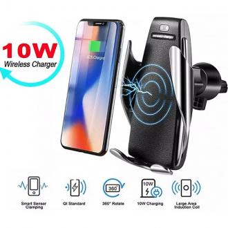 차량용 무선충전 거치대 완전자동 고속 무선충전 휴대폰 충전기 S5
