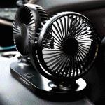 차량용 선풍기 미니 차량용품 자동차용품 서큘레이터 휴대용 탁상용 자동차 장착키트 사은품 증정