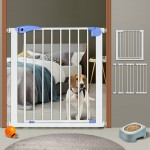 강아지안전문 고양이 문 펫도어 현관문울타리 칸막이 개벽