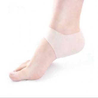 실리콘 발 뒤꿈치 보호 쿠션 패드(2P)