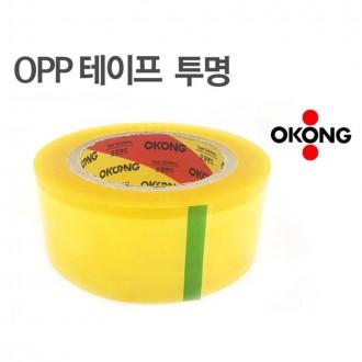[CL]오공 대용량 100m 박스테이프 포장용테이프 투명테이프